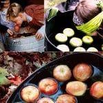 Гадания на Хэллоуин при помощи яблок