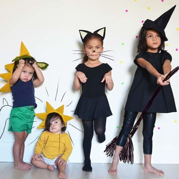 Костюмы для хэллоуина своими руками для девочки