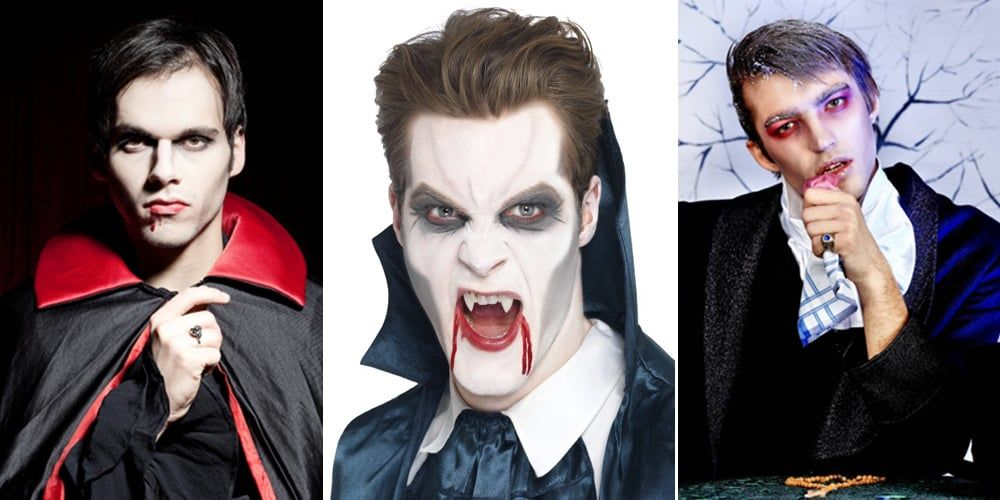 Как сделать себе грим вампира