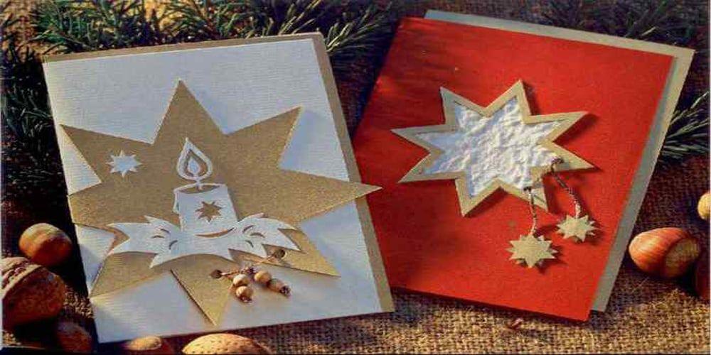 Открытка своими руками Волшебное Рождество