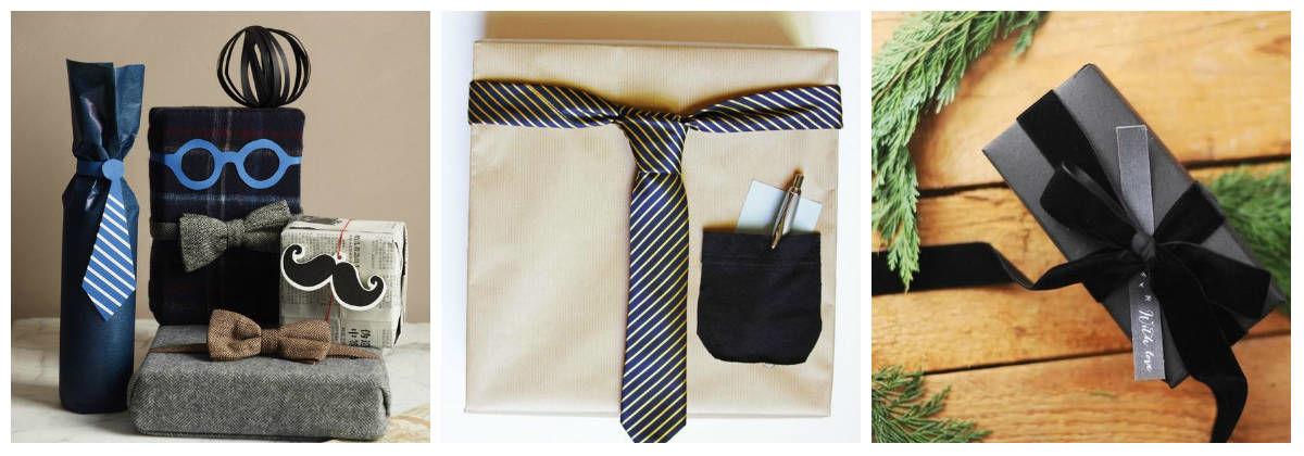 Оригинальная упаковка: подарок для мужчины
