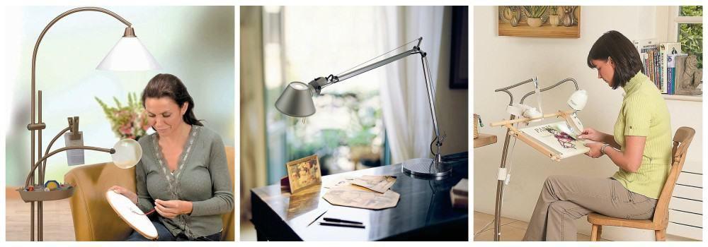 Лампа в подарок рукодельнице на Новый год