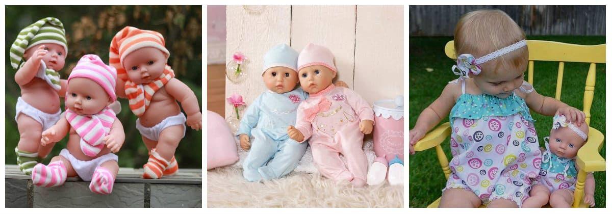 Куклы в подарок для маленьких детей