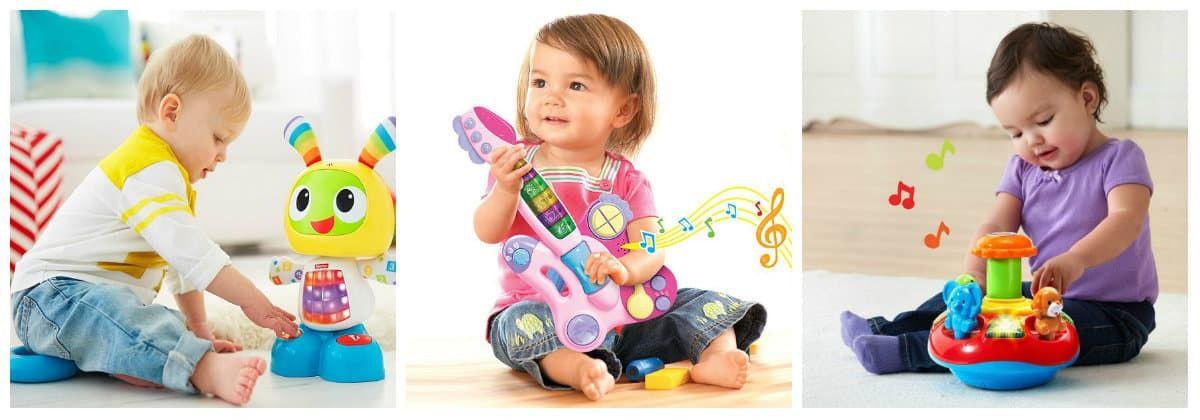 Интерактивные игрушки в подарок для маленьких детей