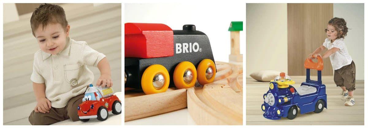 Игрушечный транспорт в подарок для маленьких детей