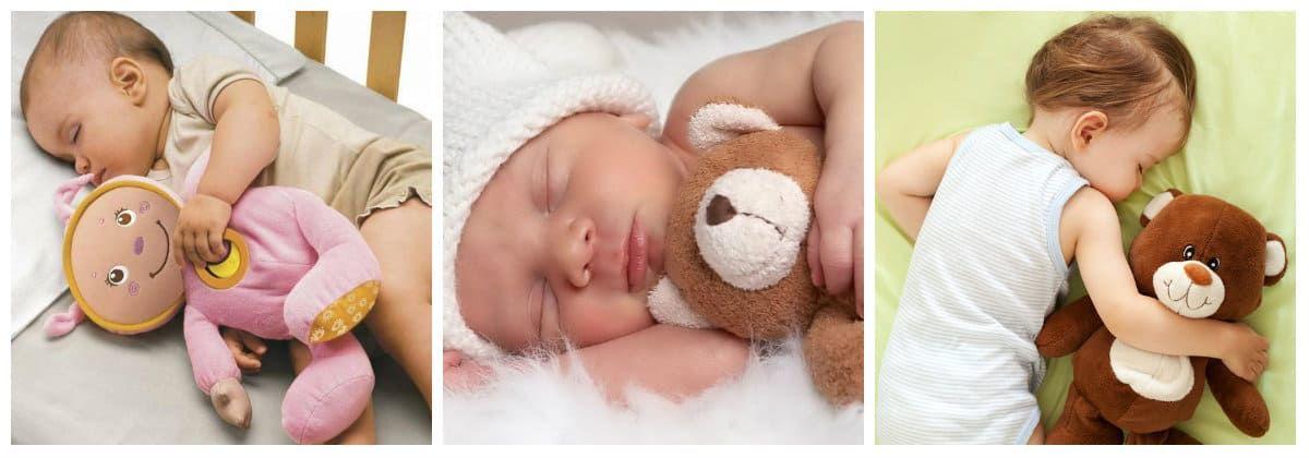 Мягкие игрушки для сна в подарок для маленьких детей