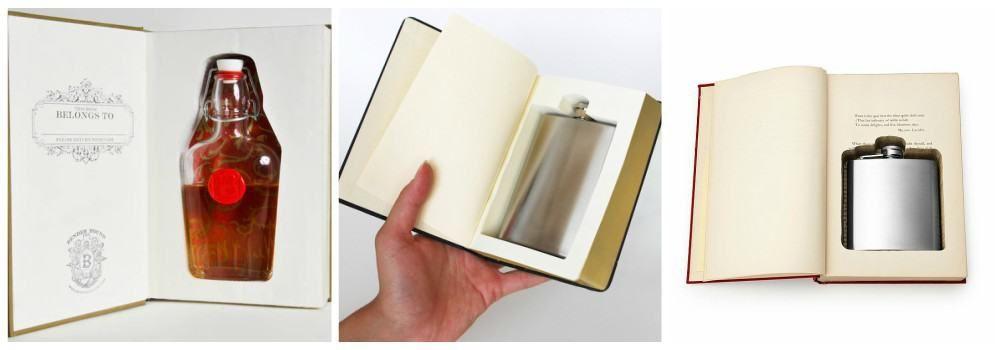 Книга с флягой в подарок