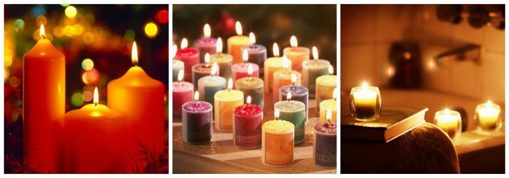 Ароматические свечи в подарок