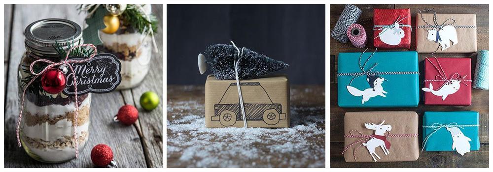 Игрушки для упаковки на Новый год