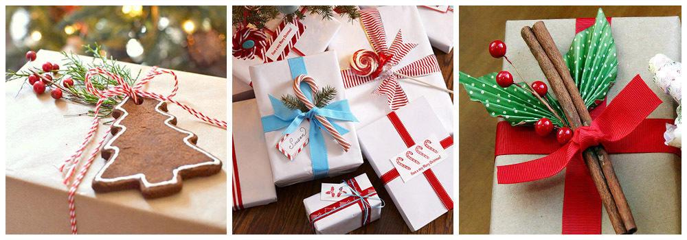 Печенье и сладости для упаковки подарка на Новый год