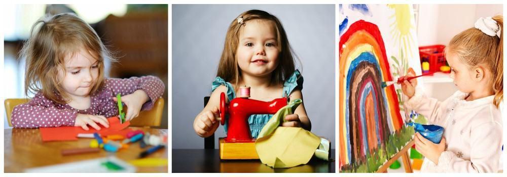Наборы для творчества в подарок дочке на 8 марта