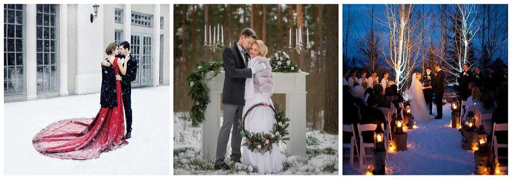 Место проведения зимней свадьбы: основные рекомендации