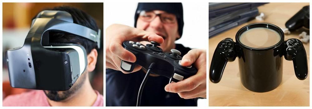 Аксессуары для видеоигр в подарок другу на 23 февраля