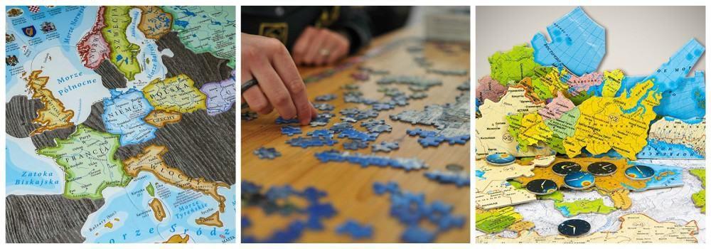 Карта-пазл в подарок сыну на 23 февраля