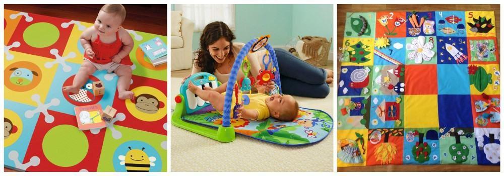 Развивающий коврик в подарок сыну на 23 февраля