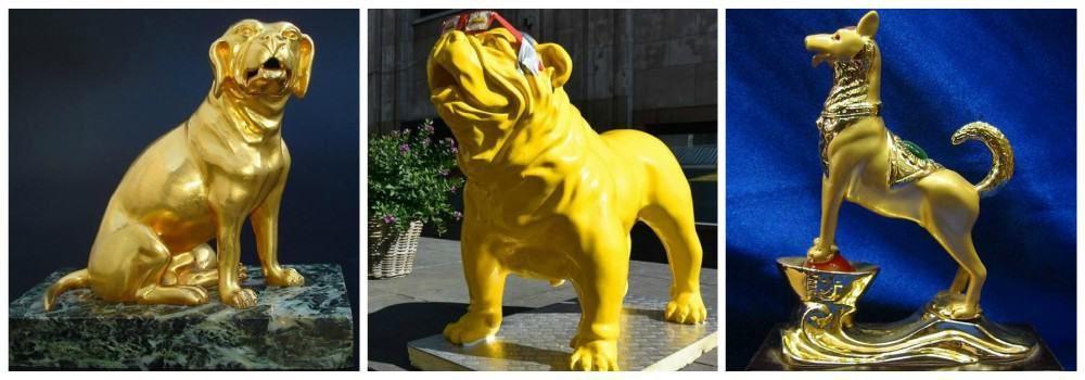 Желтая Земляная Собака - символ 2018 года