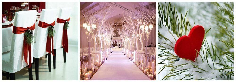 Декор зимней свадьбы: основные рекомендации