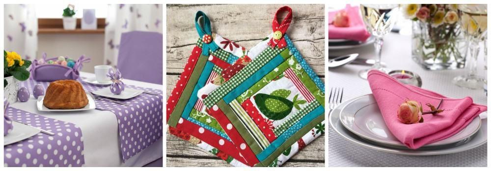 Текстиль для кухни в подарок