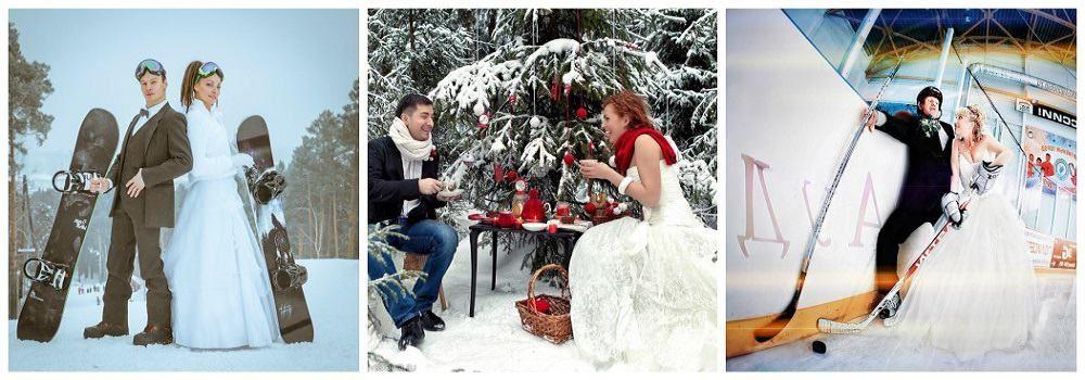 Идеи для фотосессии зимней свадьбы: основные рекомендации