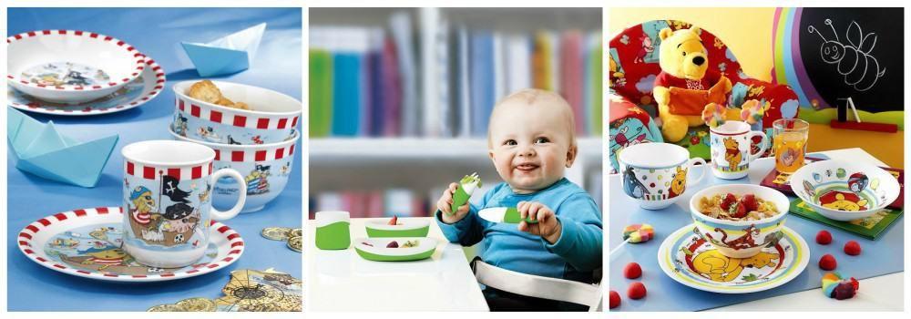 Детская посуда в подарок сыну на 23 февраля