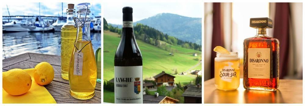 Алкогольные напитки из Италии