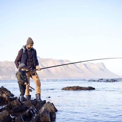 Подарок на 23 февраля маленькому рыбаку