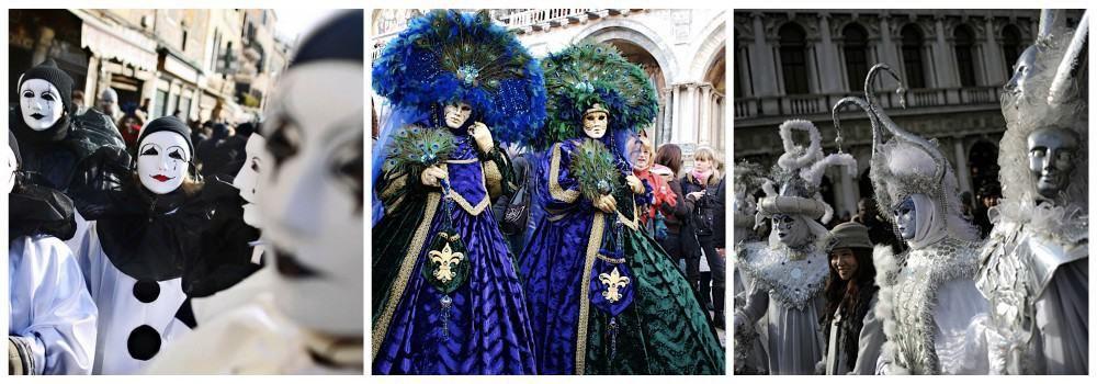 История первого венецианского карнавала