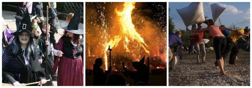 Костры, ведьмы и игры в Вальпургиеву ночь