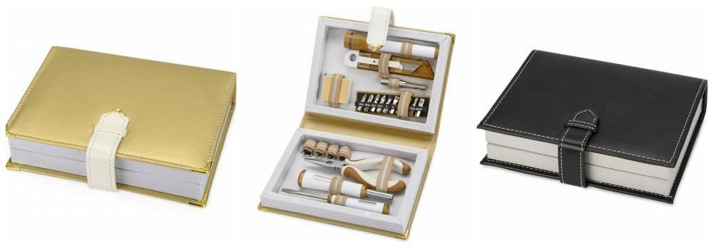 Набор инструментов в виде блокнота в подарок
