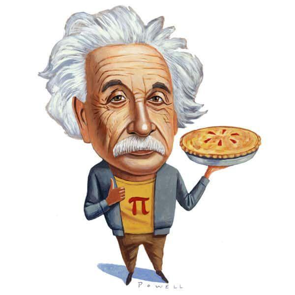 Эйнштейн и День числа пи