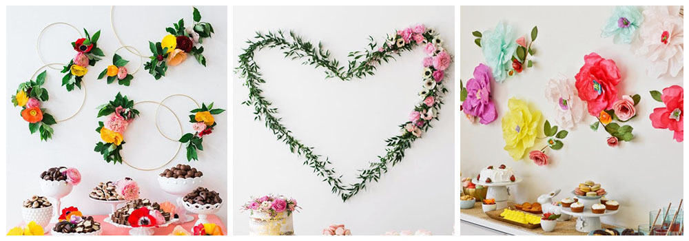 Как украсить комнату ребенка цветами на день рождения