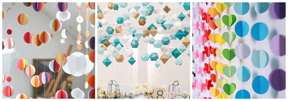 украшение комнаты ребенка на день рождения фото