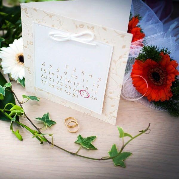 Календарь для выбора даты свадьбы
