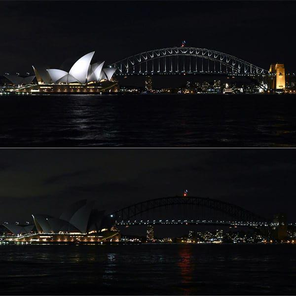 Сидней в Час Земли