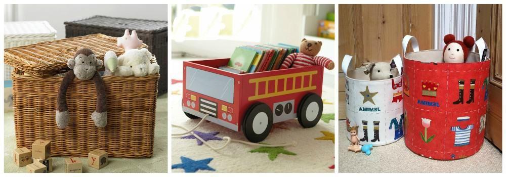 Контейнеры, ящики и корзины для хранения игрушек в подарок молодым родителям