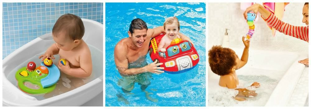 Надувные круги и игрушки для купания в подарок молодым родителям