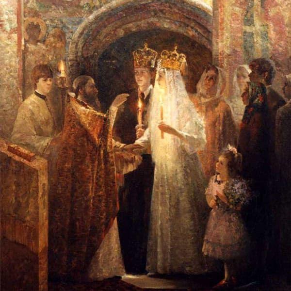 Как проводилось венчание на традиционной русской свадьбе