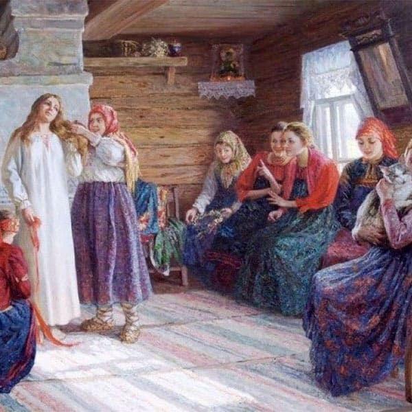 Как проводился девичник на традиционной русской свадьбе