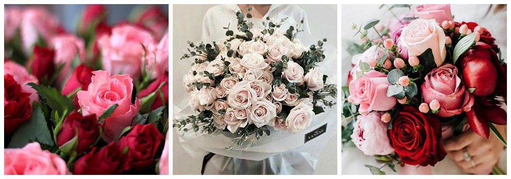 Розы - букет для любимой