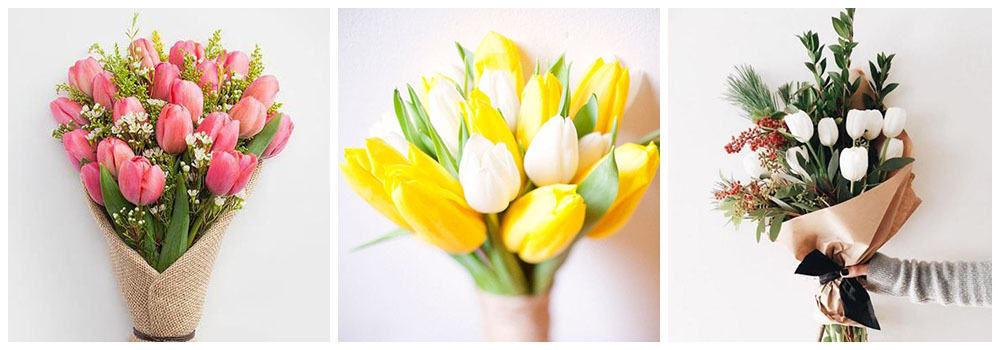 Тюльпаны - букет для любимой
