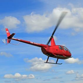 Полет на вертолете Robinson R44 (15 минут, 1 участник) от 3 750 руб