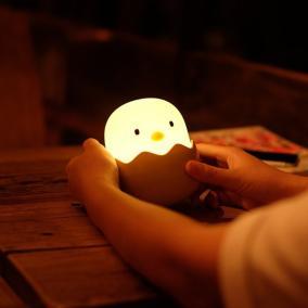 """Мягкий силиконовый ночник """"Цыплёнок в яйце"""" от 1 290 руб"""