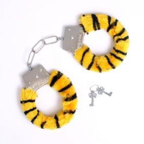 Наручники тигровые от 280 руб