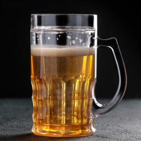Ледяная кружка для пива XXL, 450 мл от 550 руб