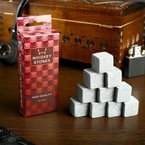 "Камни для виски ""Настоящему мужчине"" (10 шт.) от 430 руб"
