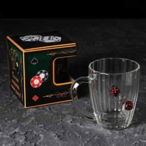 Пивной бокал с Игральными Костями от 990 руб