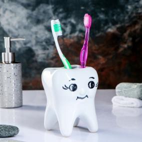 """Держатель зубных щеток """"Зуб"""" от 590 руб"""