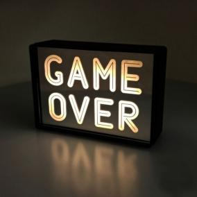 """Светильник """"Game Over"""" от 590 руб"""