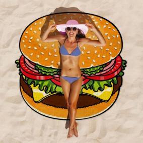 """Покрывало пляжное """"Гамбургер"""" от 790 руб"""