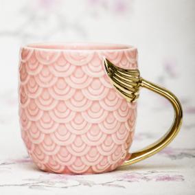 "Кружка ""Русалка"", розовая от 650 руб"